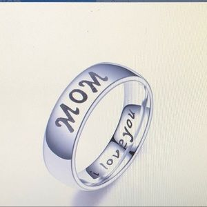 Mother and Daughter Best Gift for Mom Ring Size 8